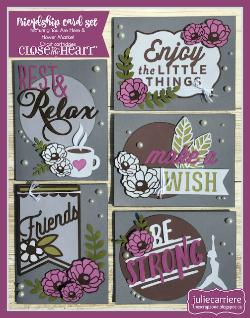 Friendship card set