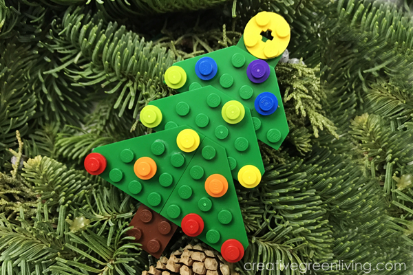 How To Make A Lego Christmas Tree Ornament Creative Green Living