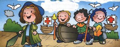 historia de colon para niños