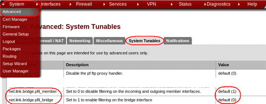 MagikSys's blog: pfSense bridge gateway vmware ovh ip