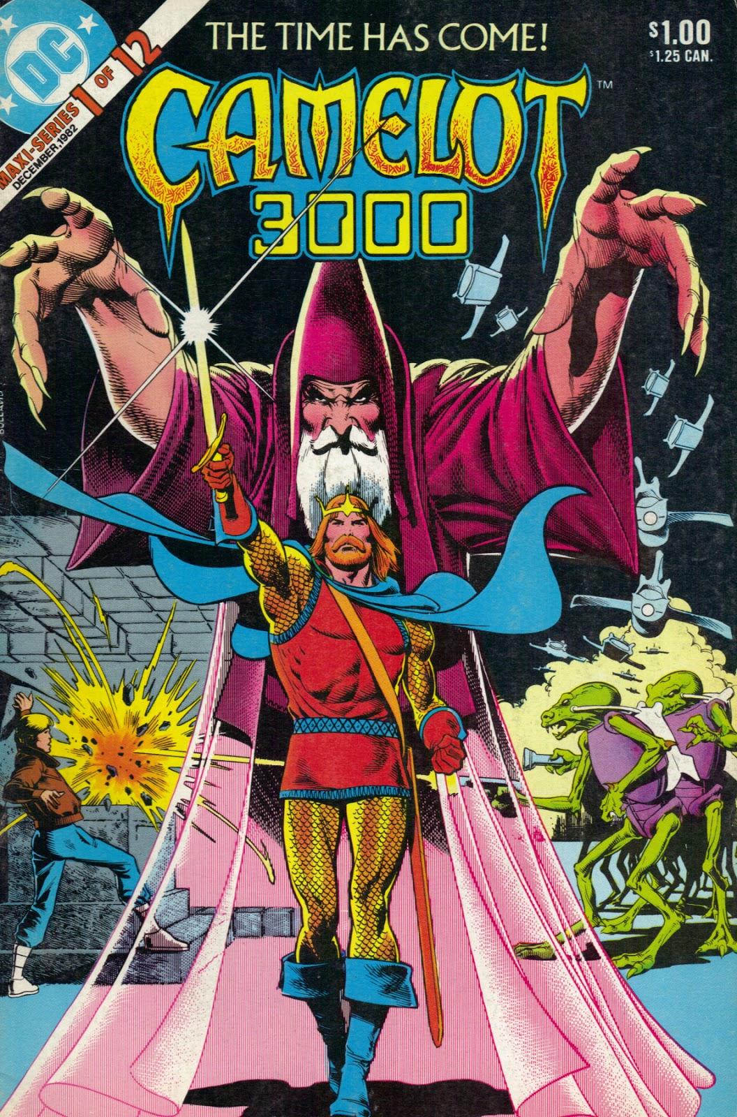 Memória em Quadrinhos: CAMELOT 3000