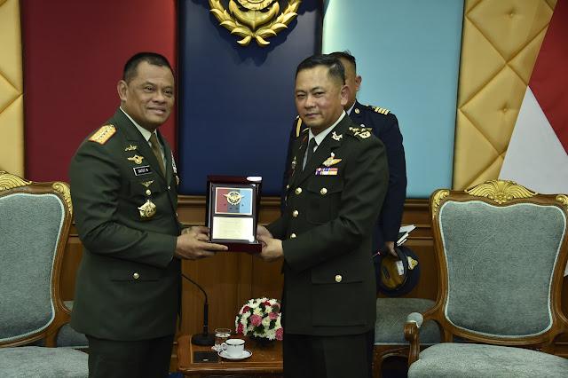 Panglima TNI dan Pangab Thailand Bahas Keamanan Kawasan Asean