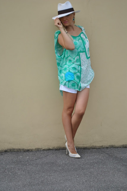 canotta oversize stampata felicia magno outfit agosto 2016 summer outfit outfit agosto 2016 come abbinare una canotta stampata mariafelicia magno fashion blogger blog di moda fashion blog italiani web influencer printed oversize top tank how to wear oversize top tank