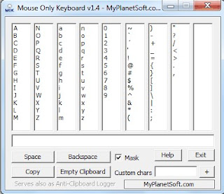 Programma Mouse Only Keyboard