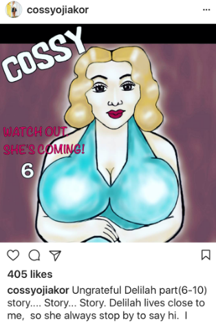 cossy orjiakor sex story book