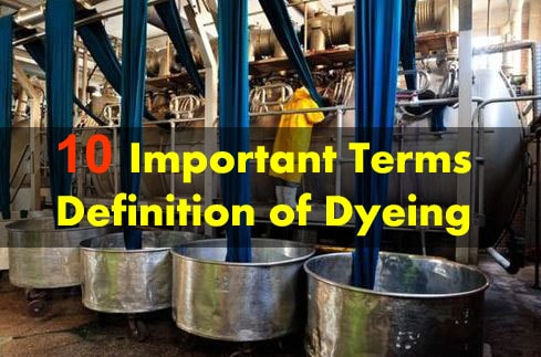 Dyeing operation