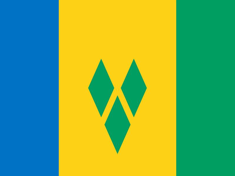 Bandera verde blanco y rojo sin escudo