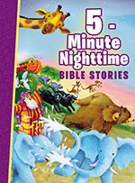 5-Minute Nighttime Bible Stories cover