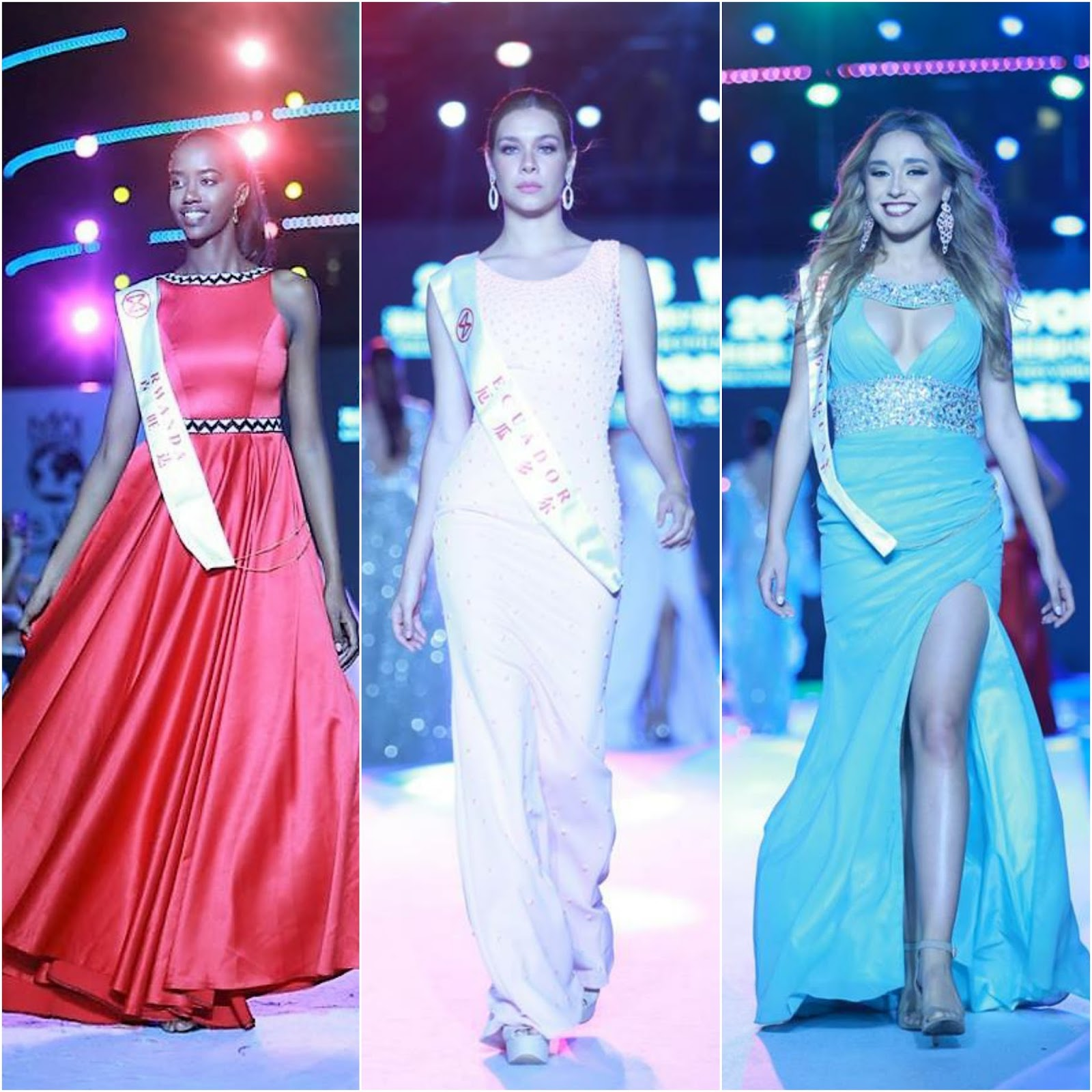 SASHES AND TIARAS.....Miss World 2017 World Designer Fashion Show ...