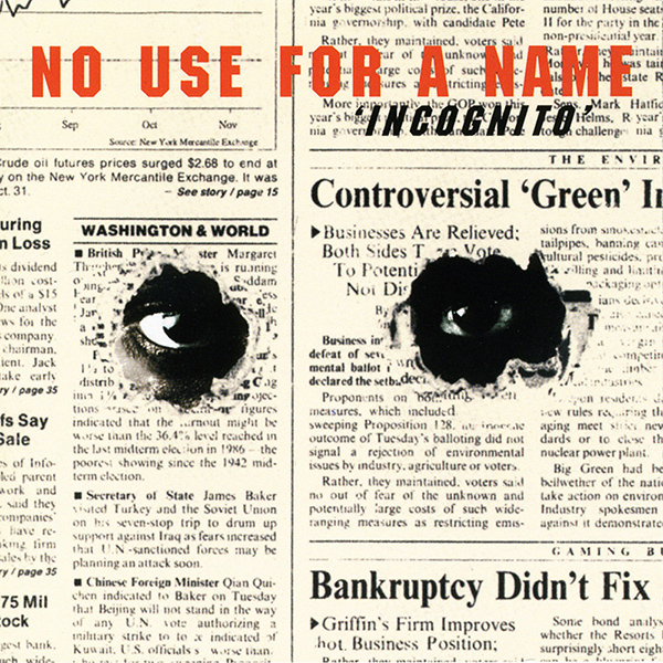 """No Use For A Name's debut album """"Incognito"""" was released today 28 years ago"""