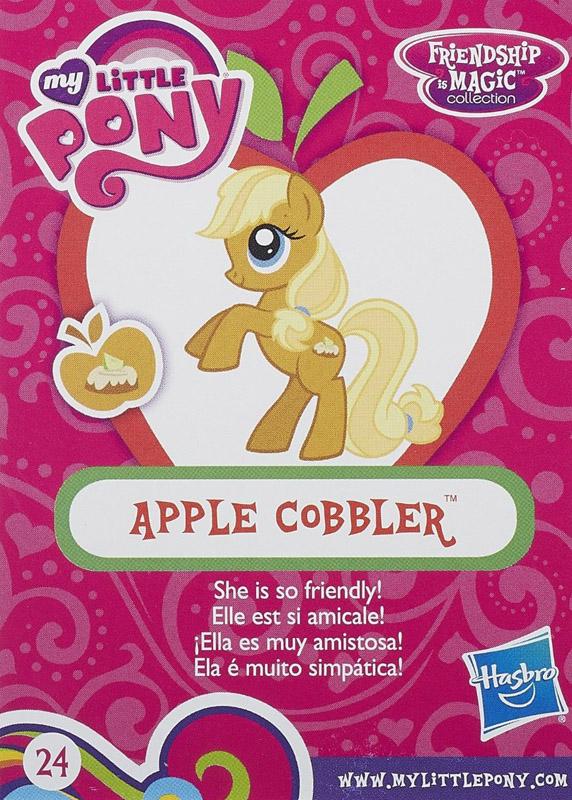 hasbro_MLP Apple Cobbler Blind Bag Cards   MLP Merch