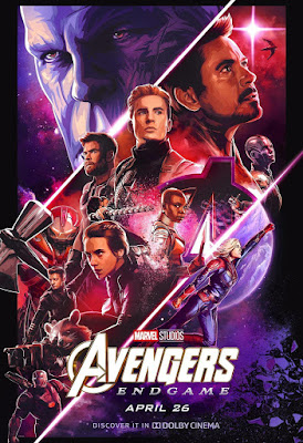 Avengers: Endgame DOLBY Cinema Theatrical One Sheet Movie Poster