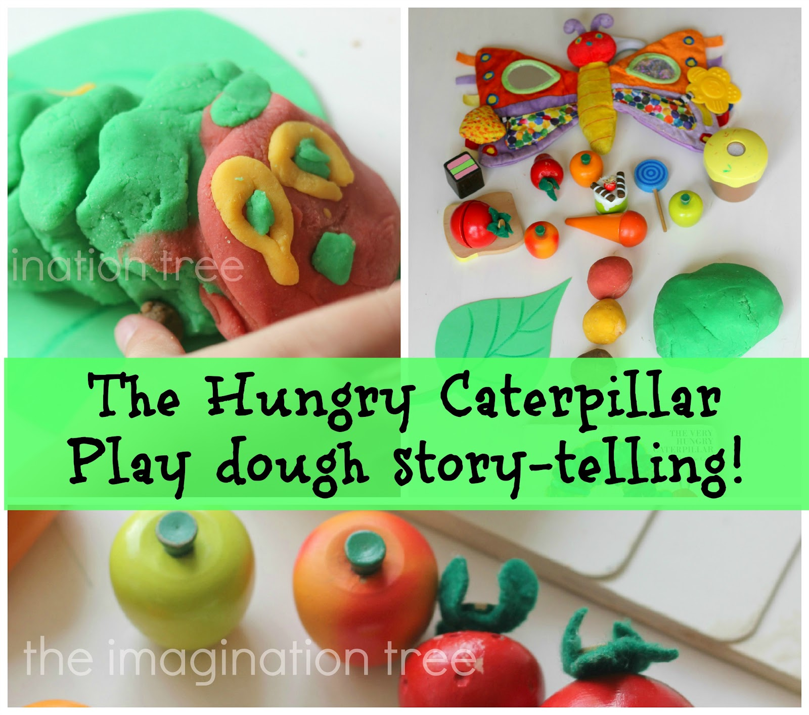 The Hungry Caterpillar Play Dough Story Telling