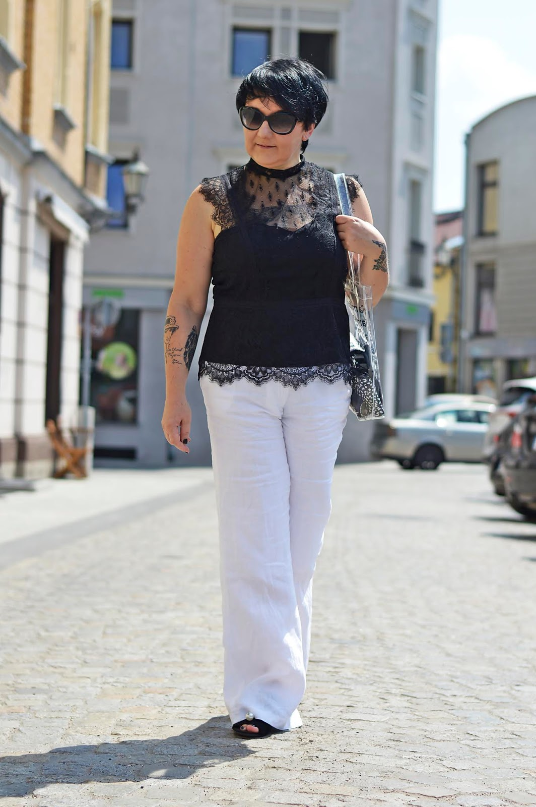 Trend na lato – lniane Spodnie  /  Summer trend – Linen Pants
