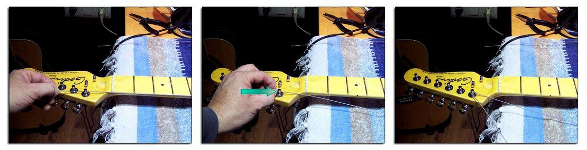 Cómo Colocar las Cuerdas de la Guitarra Eléctrica o Acústica