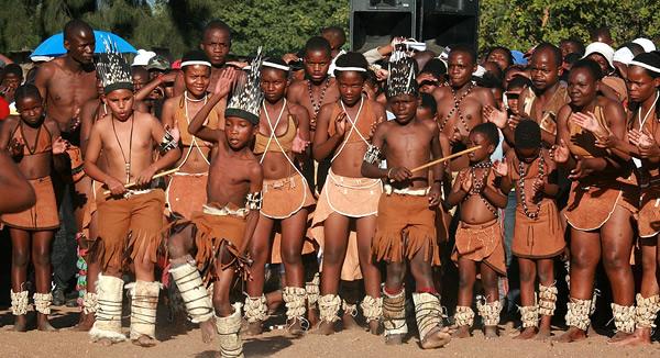 People botswana san of