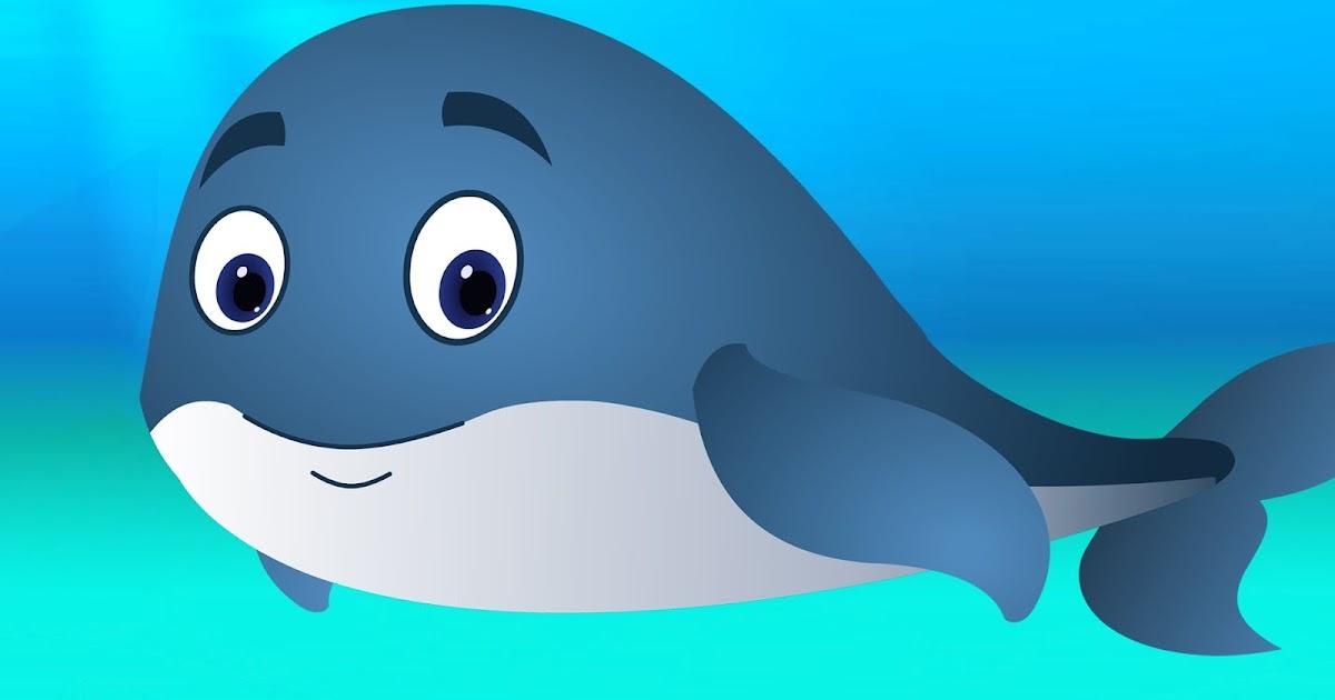 Картинки про кита для детей