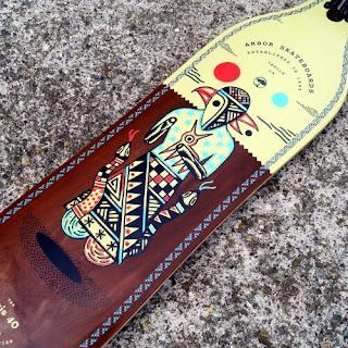 スノーボーダー絶賛のアーバースケートボード