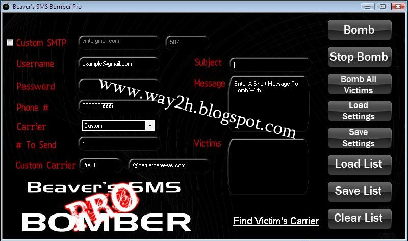 sms bomber 0.91 apk android