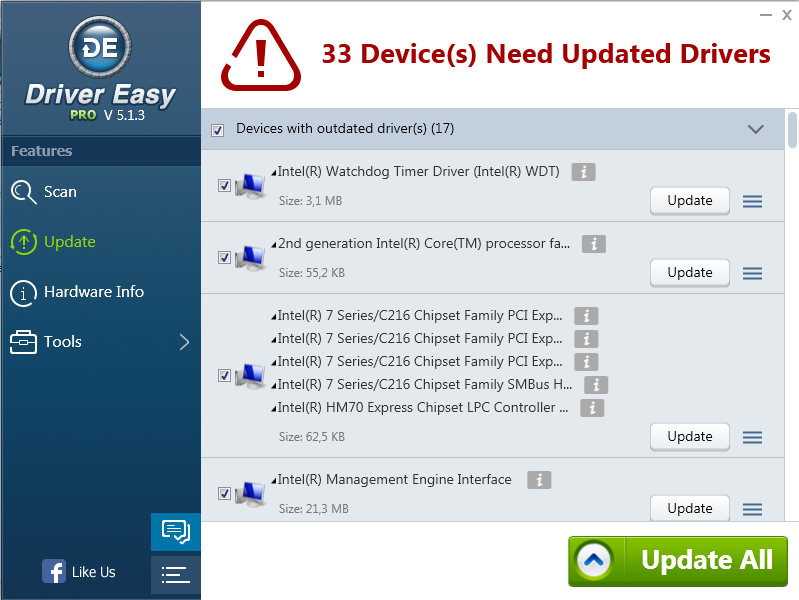 Driver Easy Professional 5.5.2.18358