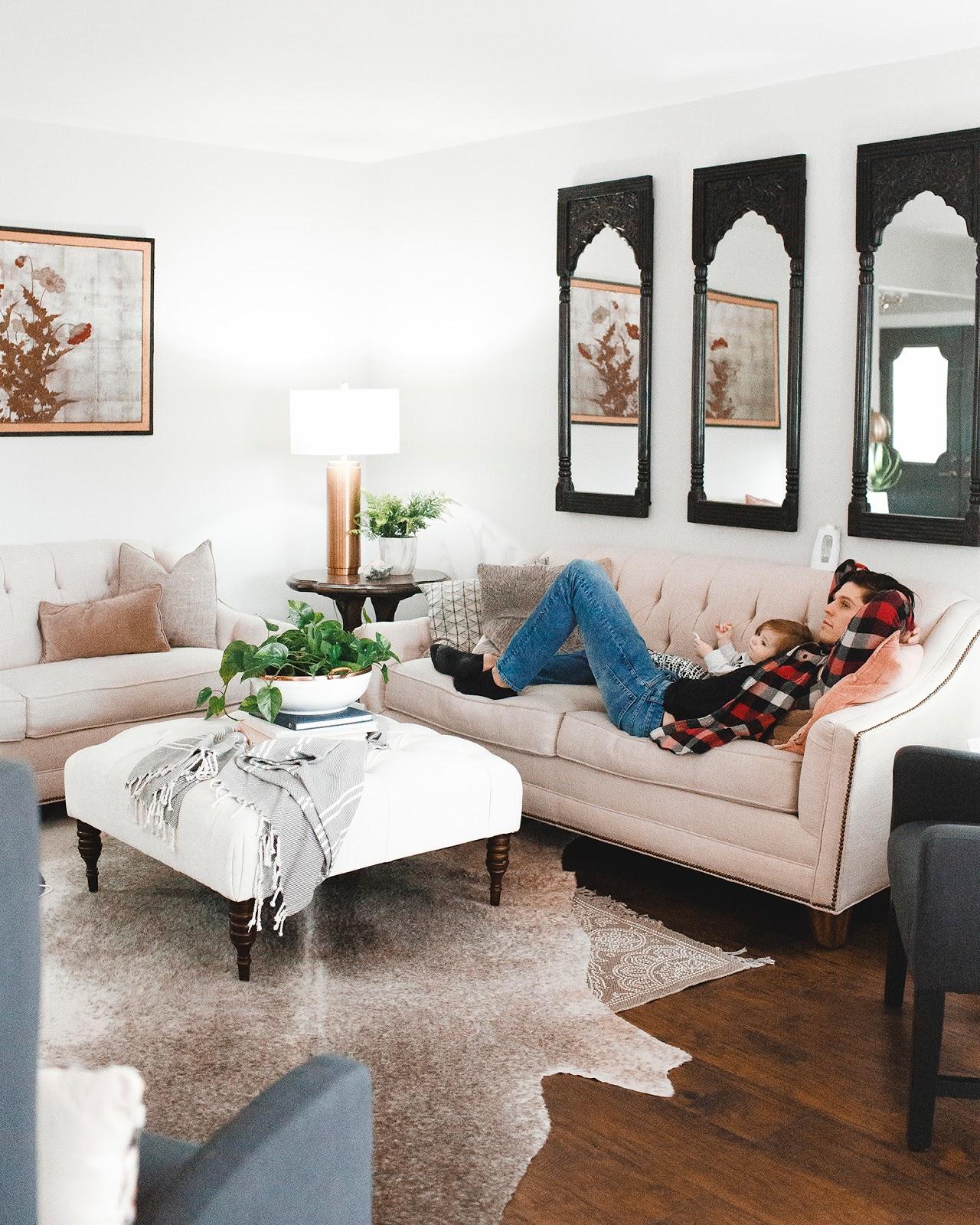 Living Room Details | Megan Burges Gilliam