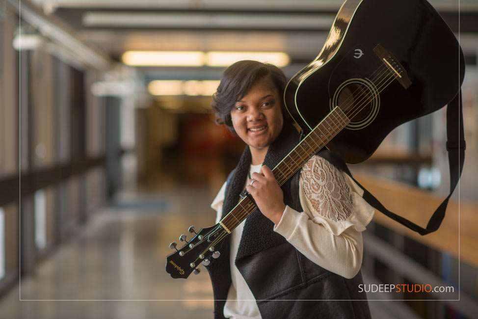 Musician Portrait Guitar Music - SudeepStudio.com Ann Arbor Senior Portrait Photographer