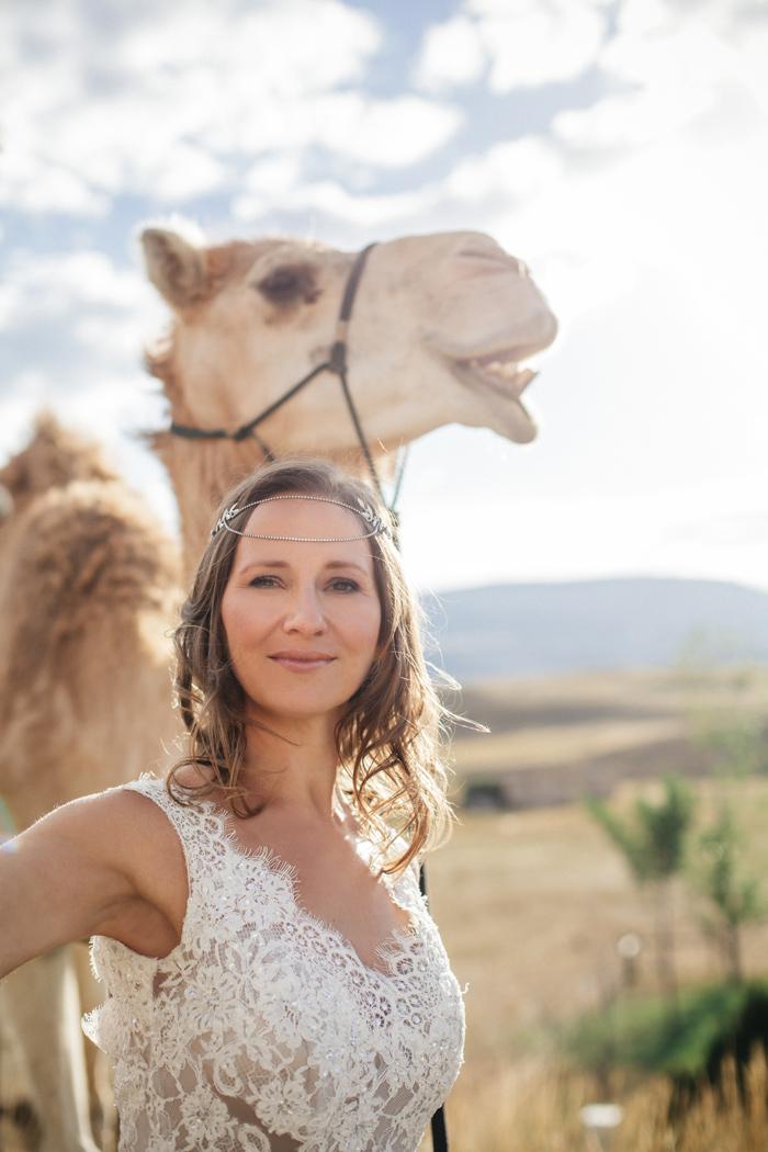Montana Bride / Photography: Kacie Q. Photography / Hair + Makeup: Emily Toppers / Styling + Flowers: Katalin Green / Dress: Essence of Australia via Plume Bridal / Headpiece: Paris by Debra Mooreland