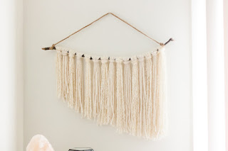 DIY wall hanging. Home decor and wall art on a budget. | texasweettea