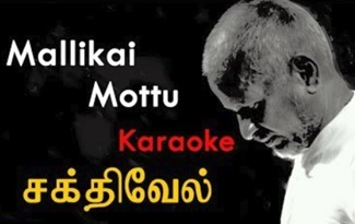 Malliga Mottu Karaoke Song | Ilayaraja Hits | Tamil Karaoke Song | Tamil Movie Songs