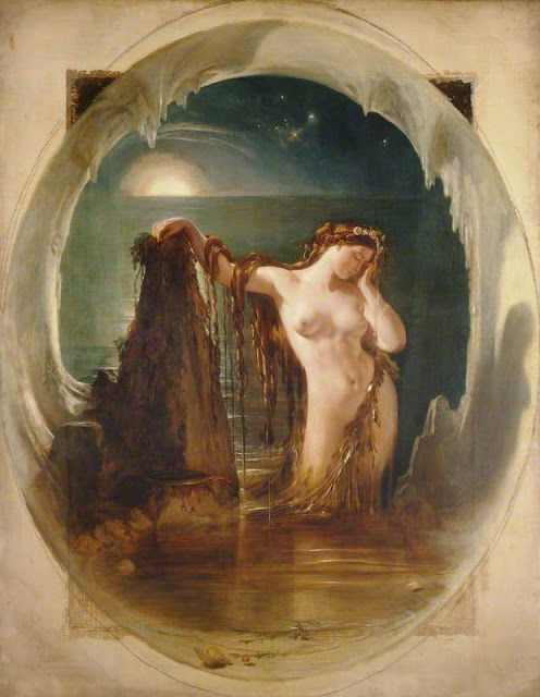 Daniel Maclise -The Origin of the Harp - c. 1842