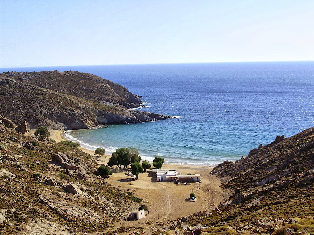 Patmos, Psili Ammos Beach- Photo Wanda Benati ©