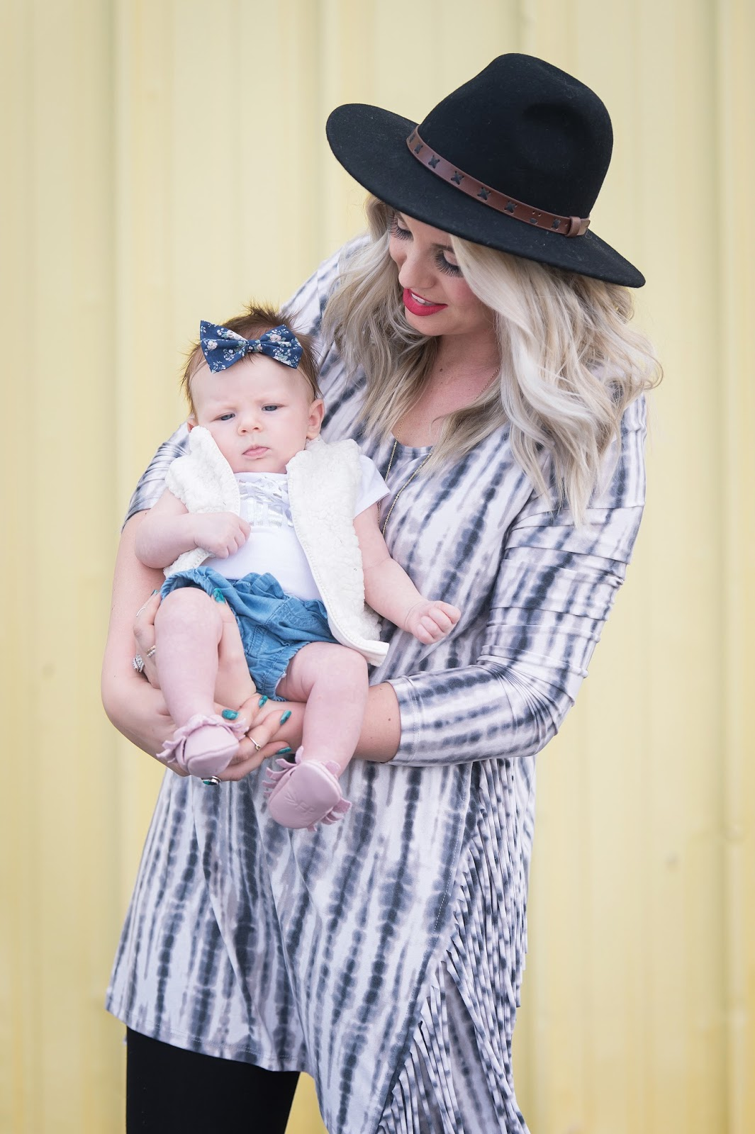 Mommy and Me Style, Baby Style, Spring Outfit