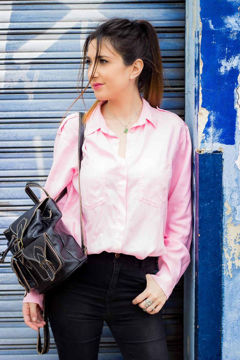 Zara Pink shirt