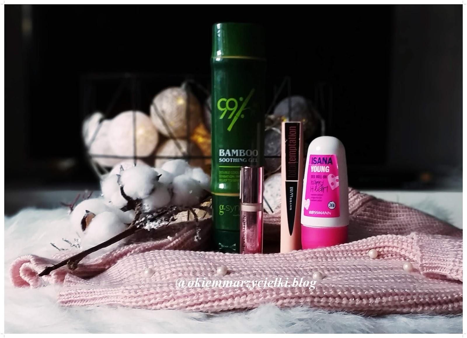 Rozczarowania i buble kosmetyczne #1| MakeupRevolution, G-synergie, Maybelline i Isana|
