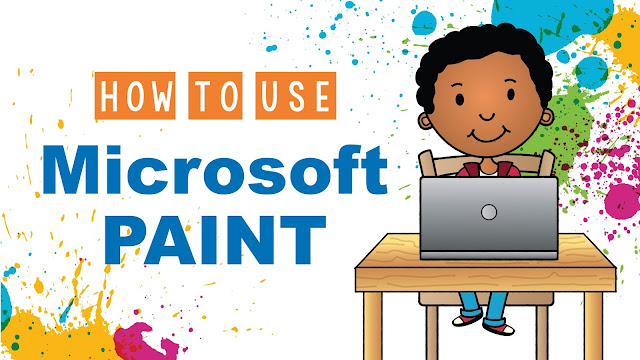 How to use Microsoft Paint with Elementary Students