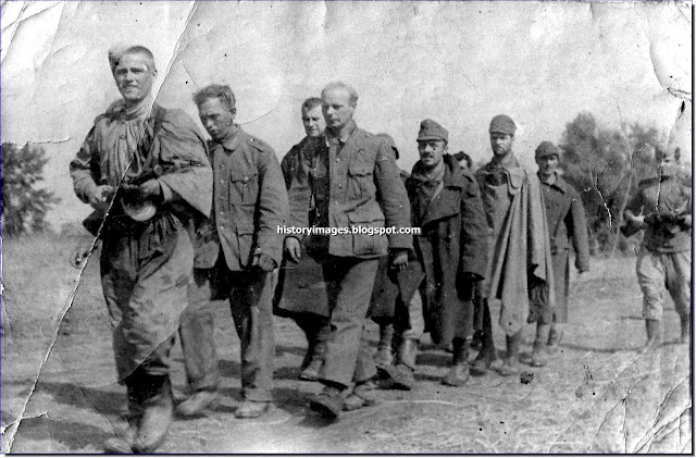 German POW  Caucasus. 1943