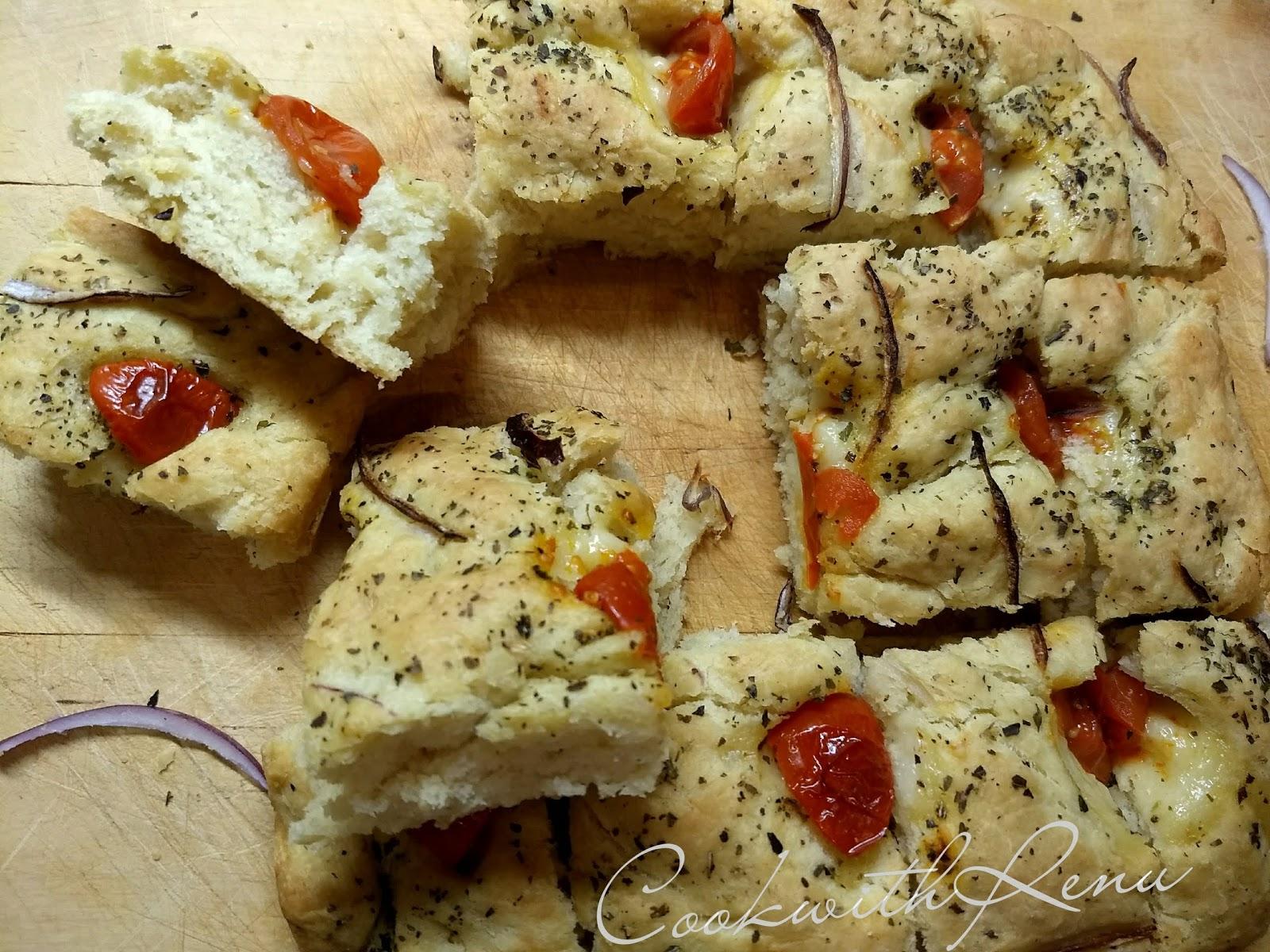 Focaccia Bread Breadbakers