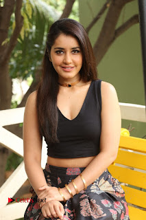 Actress Rashi Khanna Pictures at Hyper Movie Interview  0264
