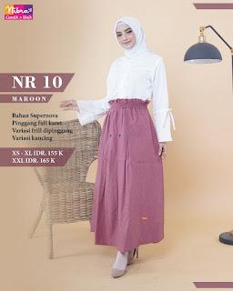 NIBRAS NR10 MAROON