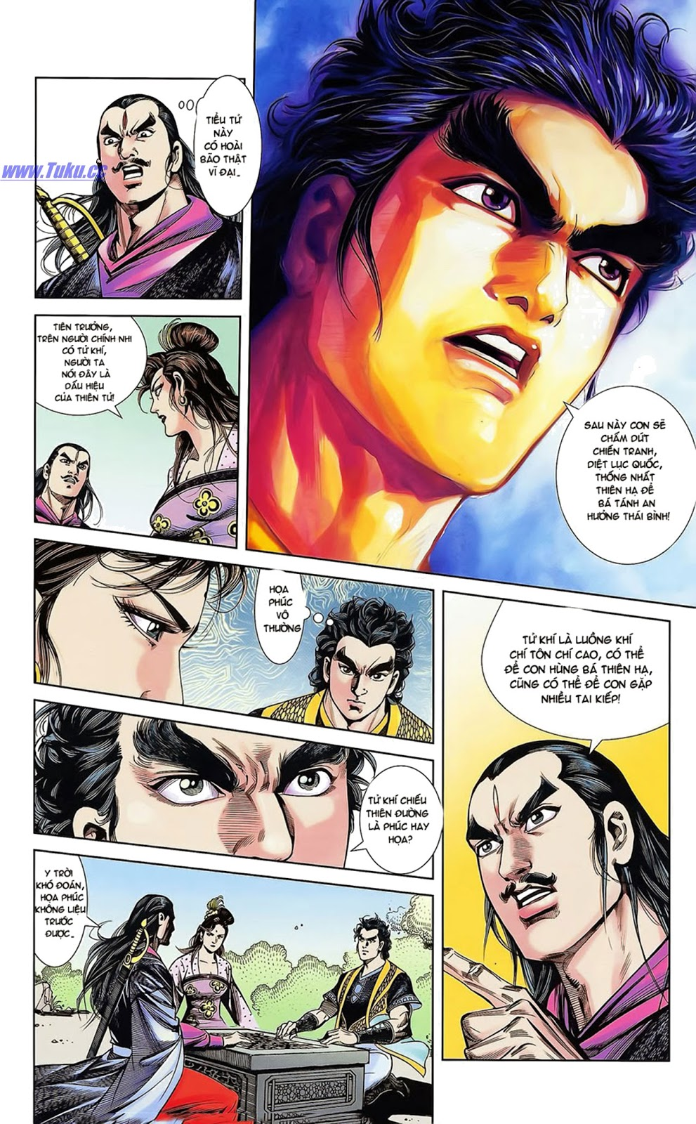 Tần Vương Doanh Chính chapter 15 trang 20