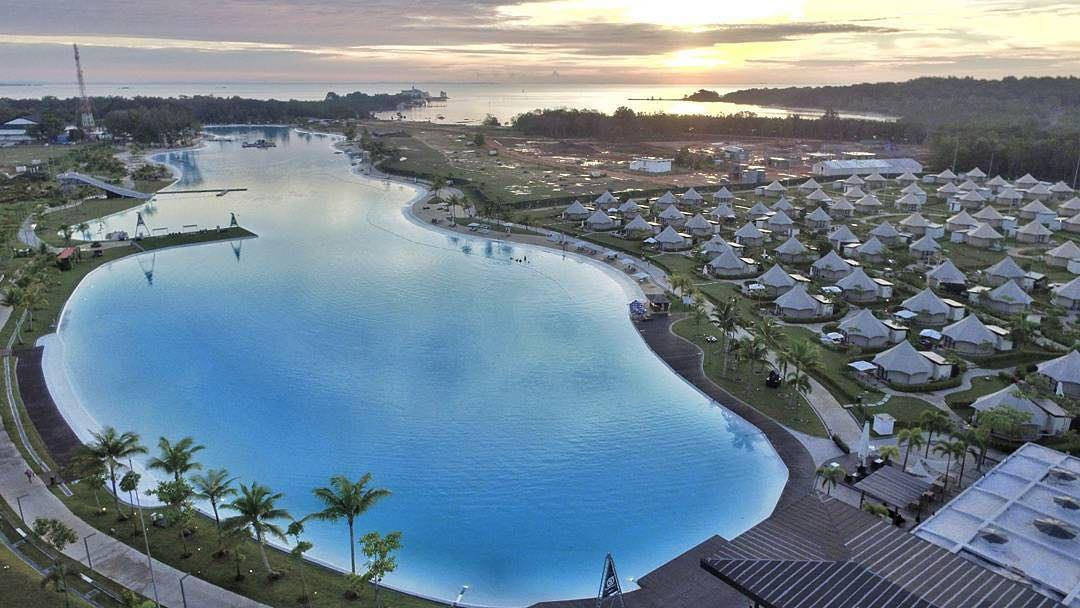 Treasure Bay Bintan, Waterpark terbesar Asia Tenggara