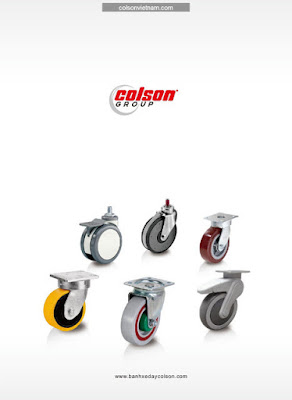 Báo giá bánh xe chịu lực Colson Caster Mỹ banhxedaycolson.com