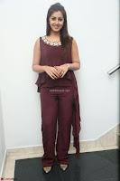 Nikki Galrani in a Brown Shining Sleeveless Gown at Nakshatram music launch ~  Exclusive 075.JPG