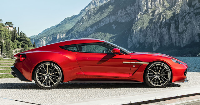 passion for luxury aston martin vanquish zagato. Black Bedroom Furniture Sets. Home Design Ideas
