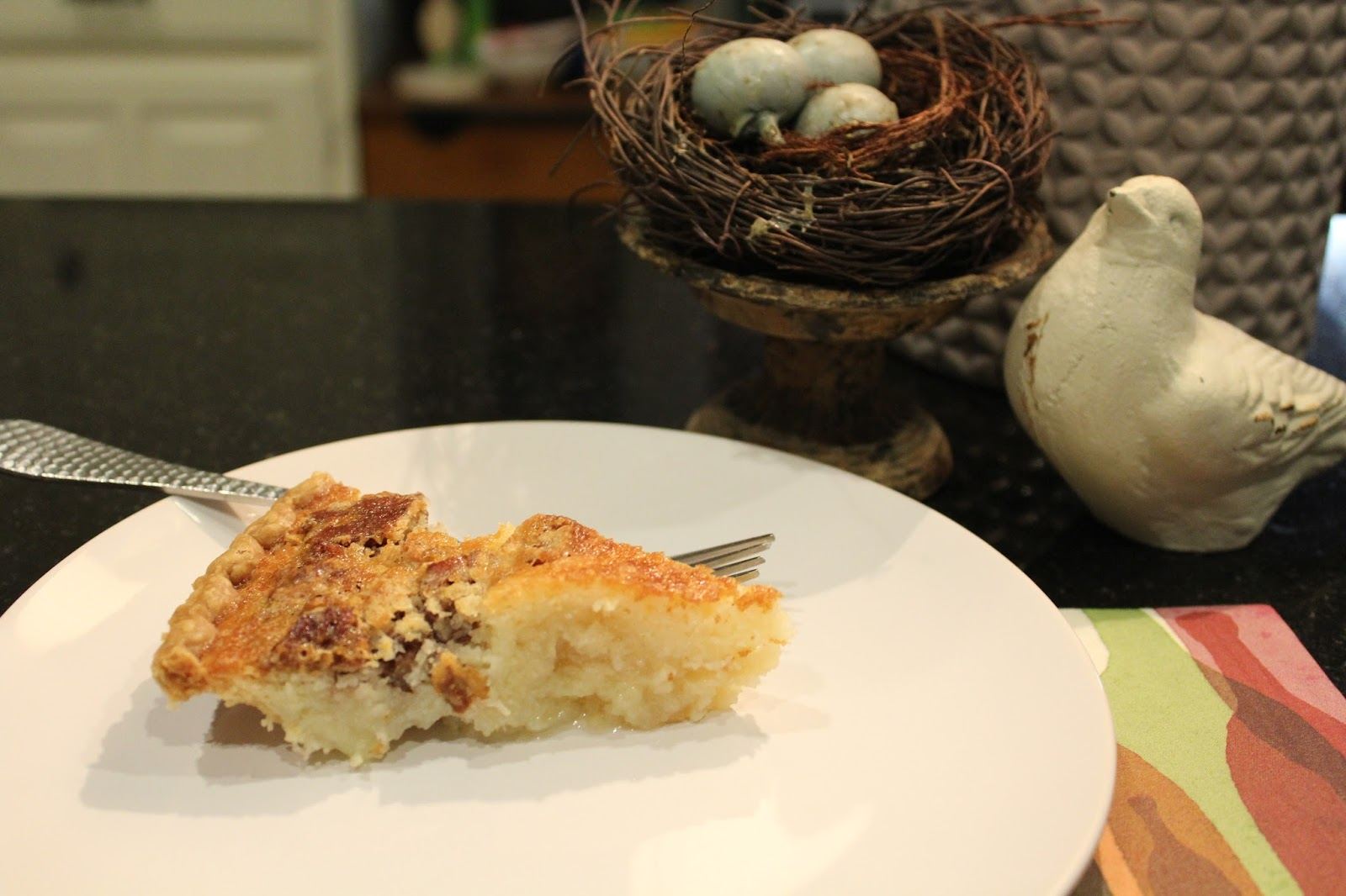 had a slice of heaven with this recipe. Buttermilk Pecan Pie ...