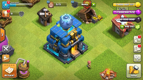 Download Class of Clans Town Hall 12 Mod Apk