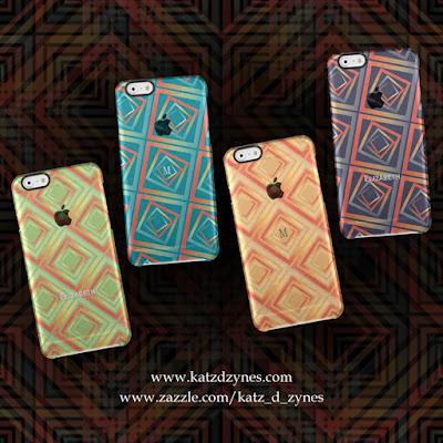 mosaic pattern iphone cases by katzdzynes