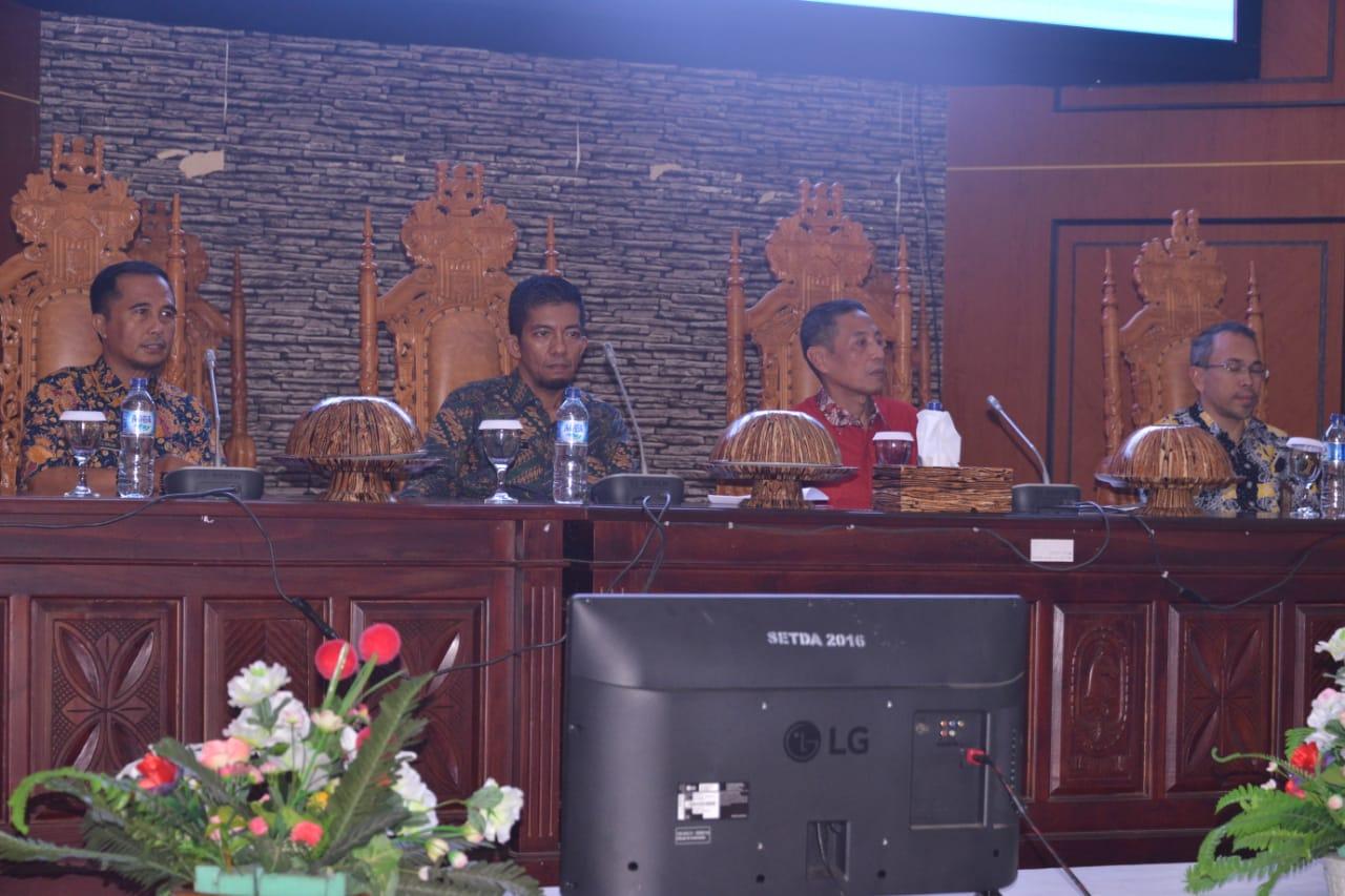 Pemda Gelar Peningkatan Kapasitas Bagi Aparat Kecamatan, Lurah dan Desa