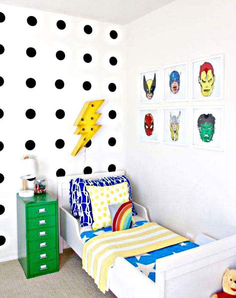 Desain Kamar Tidur Anak Laki-Laki Modern