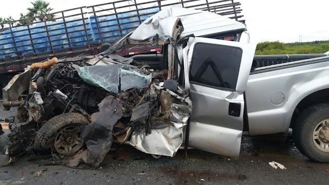 Acidente gravíssimo com vítima fatal na BR-116 em Russas-CE